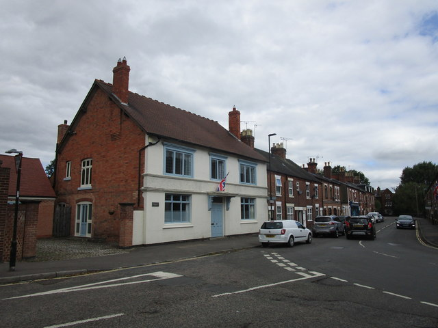 The junction of Monk Street and Bridge Street, Tutbury