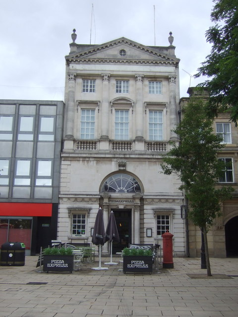 Pizza Express On Market Square Stafford Jthomas