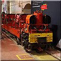 TQ3082 : Post Office Railway train by Ian Taylor