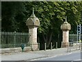 SK5641 : Gateway to The Forest Recreation Ground, Forest Road East by Alan Murray-Rust