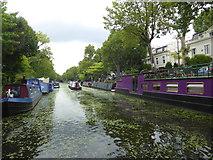 TQ2681 : Regent's Canal near Little Venice by Marathon