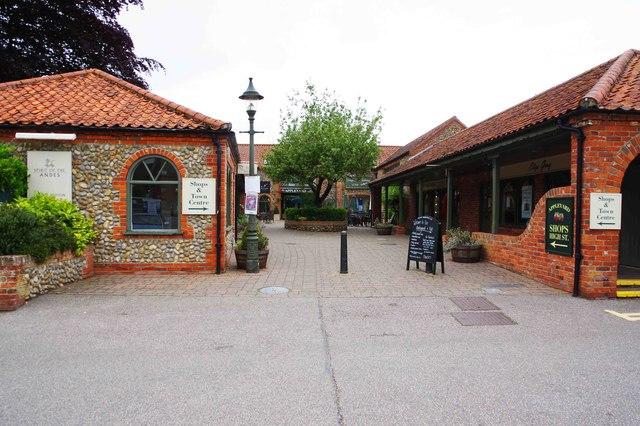 Entrance to Appleyard from Kerridge Way, Holt, Norfolk