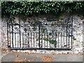 SX9073 : Wrought iron gate, Friston House, Forder Lane, Bishopsteignton by Robin Stott