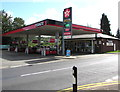 ST1598 : August 17th 2019 Texaco fuel prices, Gwerthonor Place, Gilfach by Jaggery