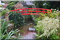 ST6601 : Red bridge, Cerne Abbas by David Martin