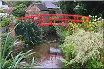 ST6601 : Red bridge, Cerne Abbas by David Martin