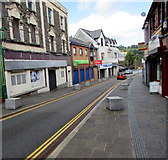 ST1599 : No parking in High Street, Bargoed by Jaggery