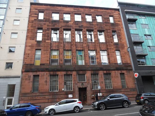Bell Telephone Exchange, Glasgow