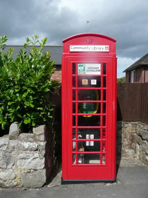 Former telephone kiosk, Selattyn