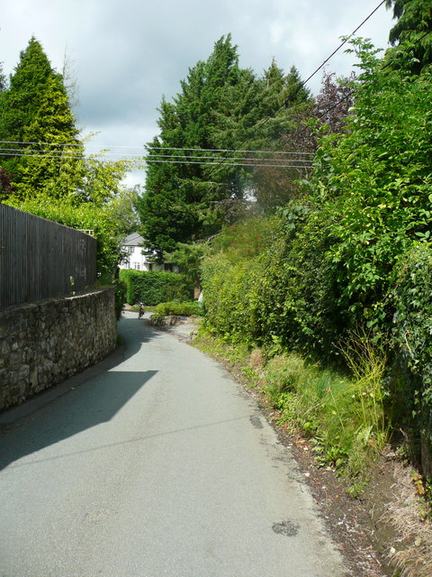 The lane to Weston Rhyn, Selattyn
