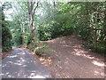 TQ1348 : Greensand Way at Westcott, near Dorking by Malc McDonald