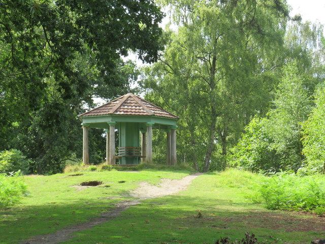 The Temple, Bury Hill, near Dorking