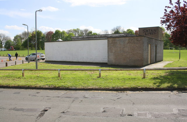 Community Centre in recreation ground off Collingwood Avenue