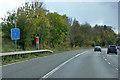 TL5117 : Southbound M11 near to Little Hallingbury by David Dixon