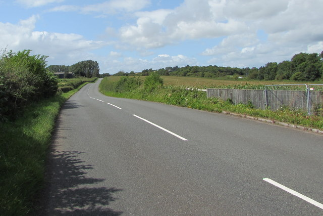 Unclassified road from Mitchel Troy towards Dingestow