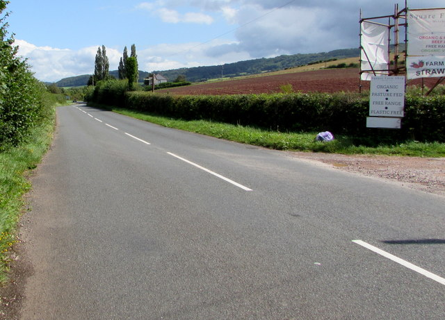 Unclassified road from Dingestow to Mitchel Troy