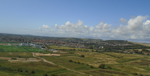 North Lancing from the Air