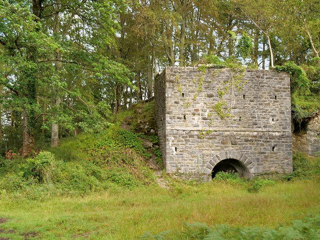 Disused Lime Kiln in Killarney National Park