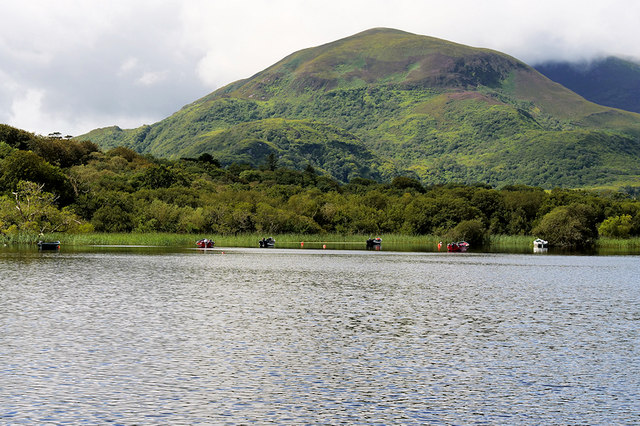 View across Lough Leane from Ross Island
