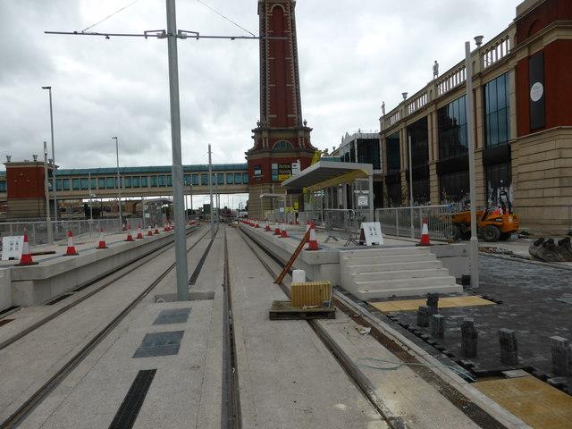 Barton Square tram stop