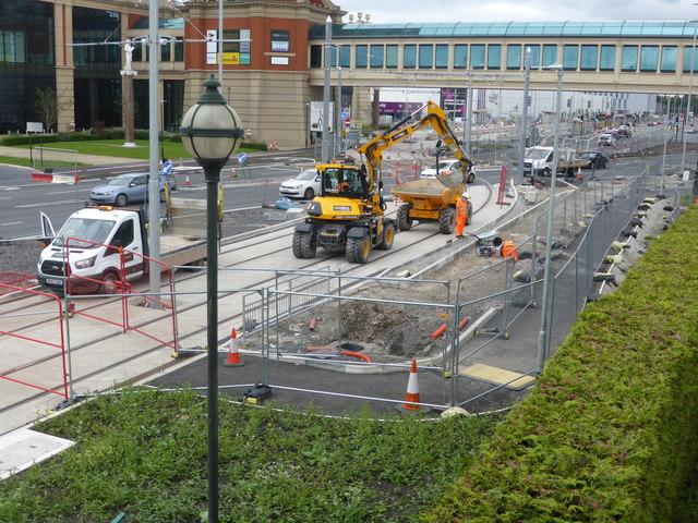 Tramway construcction