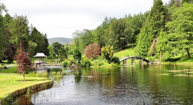The Japanese Garden at Cowden Castle