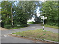 TL5203 : Road junction at Greensted Green, near Ongar by Malc McDonald