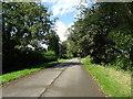 SP5356 : Minor road near Barley Field Farm by JThomas