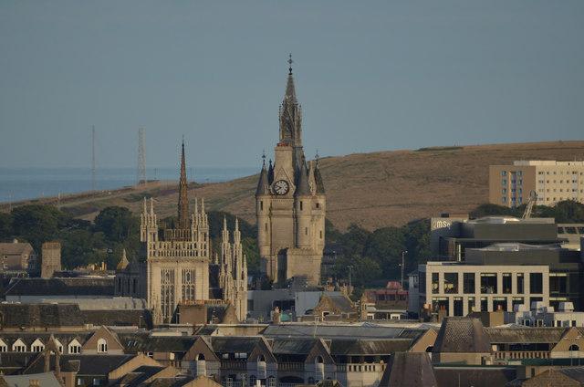 The Spires of Aberdeen, Scotland