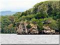 V9488 : Ross Island, Governor's Rock by David Dixon