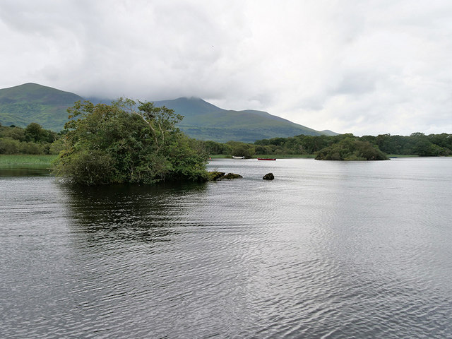 Lough Leane, Small Islet in Ross Bay