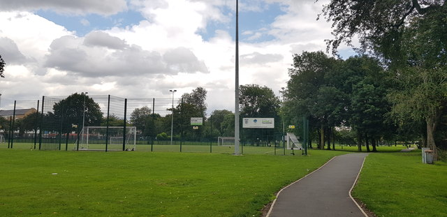 All Weather Sports Pitches in Ordsall Park