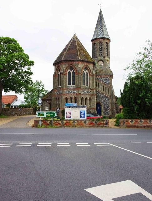 Holt Methodist Church, 1 Norwich Road, Holt, Norfolk