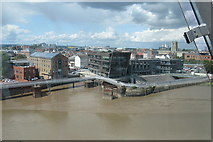 TA1028 : River Hull and The Dock, Hull by Rudi Winter