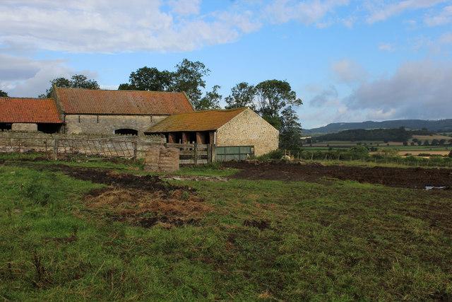 Farm Outbuildings by Foxfoot Cottage