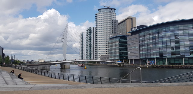 Media City and Footbridge