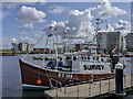 J3475 : The 'Crimson Arrow' at Belfast by Rossographer