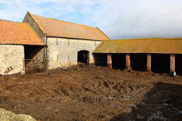 Farm Outbuildings on Colley Broach Road