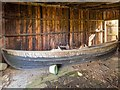 NH9459 : Cran Loch Boathouse by valenta