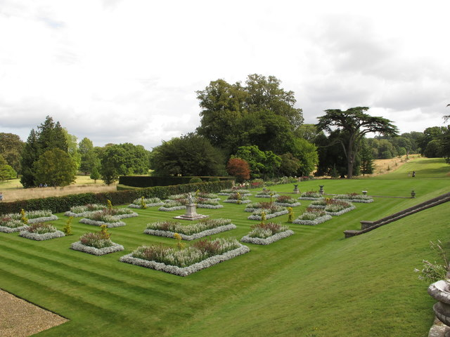 Parterre at Kingston Lacy