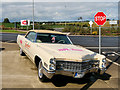 S0381 : Papa John's Coupe de Ville at Barack Obama Plaza, Moneygall by David Dixon