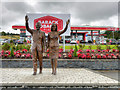 S0381 : Barack Obama's Statue at Moneygall by David Dixon