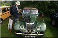 TL7835 : View of a 1950s MG TF in the Hedingham Castle Classic and Vintage Car Show by Robert Lamb