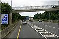 O2421 : Bridge over the M11 near Shankhill by David Dixon