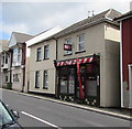 ST1598 : Barber shop at 13 Gwerthonor Place, Gilfach by Jaggery