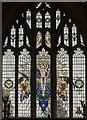 SP1114 : East window, Ss Peter & Paul church, Northleach by Julian P Guffogg