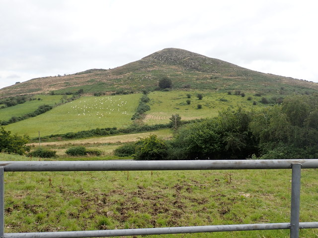 Sugar Loaf Mountain from the Duburren Road