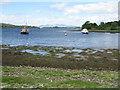 NM9634 : Boats on Loch Etive by M J Richardson