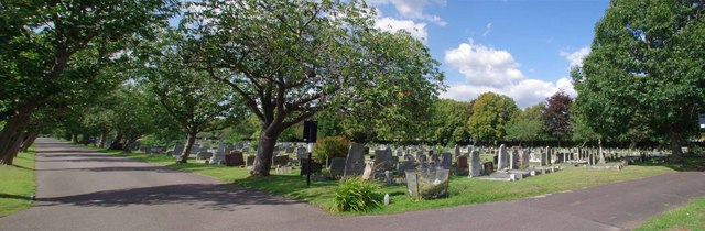 Sutton Cemetery Panorama