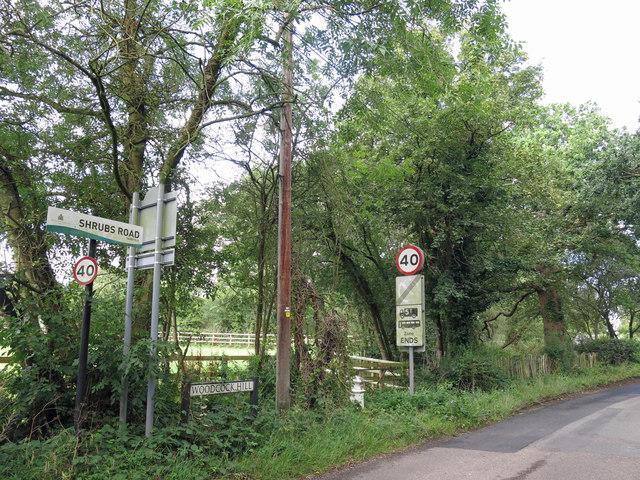 Shrubs Road